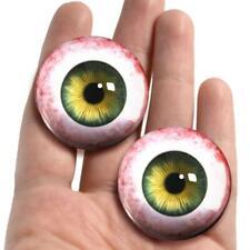 Green Glass Doll Eyes Realistic Taxidermy Craft Eyeballs 38mm