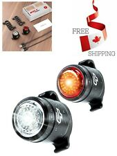 Universal Fit USB Rechargeable Bike Light Front And Back with Safety Lights