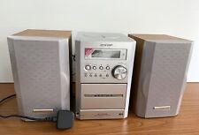 SHARP XL-MP35 Micro Componant System MP3 Playback Cd-R/RW Cassette Disc