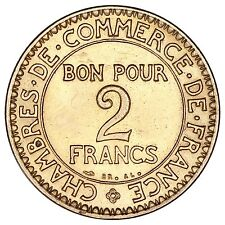 "France / 2 francs 1922 ""Chambre du commerce"" / Spl"