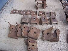 1968 mercury cougar rear shock mounts,leaf spring,u bolt,mustang,68,1967,67,1969