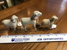 Wool Sheep Holiday Childs 1930's