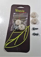 Greenhouse door wheels 22mm Vitavia with screws/nuts/washers