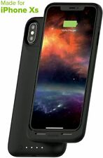mophie Juice Pack Air 1,720mAh Qi Wireless Charging Battery Case iPhone X, Black