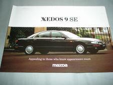 Mazda Xedos 9 SE brochure c1990