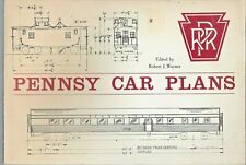 Pennsy Car Plans Vintage 1969 Magazine by Robert J. Wayer