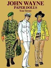 John Wayne Paper Dolls by Tom Tierney (1981, Paperback)