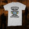 Army infantry t-shirt 11 Bravo Iraq Afghan War Combat Veteran follow me Cotton