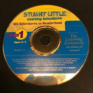The Learning Company Stuart Little Learning Adventure (PC) DISC ONLY #42076