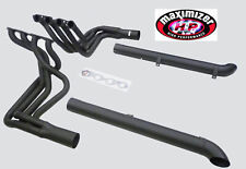Maximizer BBC Header w/ Resonated Side Pipe Fits 1965-1974 Chevy Corvette