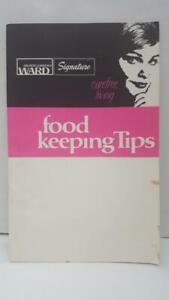 Vintage Montgomery Wards Food Keeping Tips Carefree Living Brochure