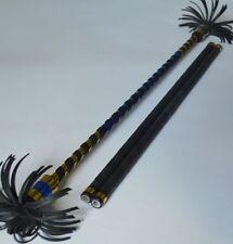 Aluminium Flower Stick gold/blue Devil Sticks Cool Juggling Stix Devilstick