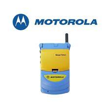 TELEFONO CELLULARE MOTOROLA STARTAC 308C GSM 900 GIALLO BLU USATO.