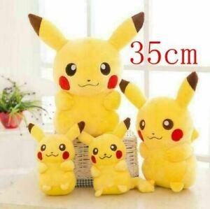 NEW,High Quality 35cm Pikachu Plush Toys Cute Stuffed Animal Dolls Movie Popular