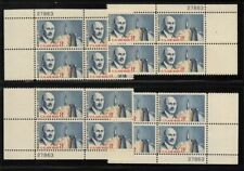 1964 Airmail Sc C69 matched plate blocks MNH 27863