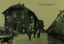 Northern Pacific Depot Glendive Montana Real Photo RPPC Vintage Postcard