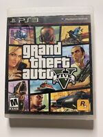 Grand Theft Auto V PlayStation 3 PS3 Complete Fast Shipping