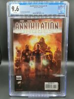 Annihilation: Conquest 6 CGC 9.6 NM+ 1st New Guardians of the Galaxy Team!