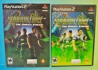 Syphon Filter Omega Strain -  PS2 Playstation 2 Game 1 Owner FLAWLESS Mint Disc