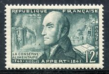 STAMP / TIMBRE FRANCE NEUF N° 1014 * INVENTEUR / NICOLAS APPERT NEUF CHARNIERE