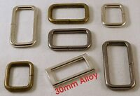Rectangle Rings Loops Metal Wire-Formed (Non Welded) Heavy Duty Belt Bag