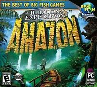 Hidden Expedition Amazon  PC Hidden Object Adventure   XP Vista 7 8  Brand New