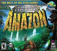 Hidden Expedition Amazon  PC Hidden Object Adventure   XP Vista 7 8  Brand New