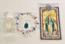 Miraculous Medal Gift Set with Holy Water & Medal - Catholic Gifts