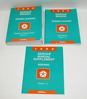 1995 Sebring Avenger Factory Service Manuals  GOOD USED CONDITION