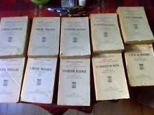 Mémoires sur la 2ème guerre mondiale, les 5 premiers tomes de Winston Churchill