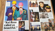 PET SHOP BOYS 'are beautiful'  2 page UK ARTICLE / clipping