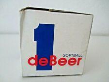 J DeBeer & Son Albany Ny #212 Asa Official Softball in Box Nos Vintage