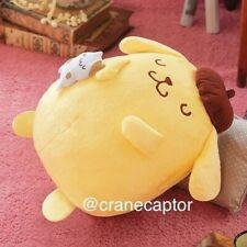 35cm Sanrio Japan Pom Pom Purin Pompompurin Muffin Doll Plush Good Night Sleep