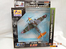 EASY MODEL: D.520! FRENCH FIGHTER! BUILT-UP! IN ORIGINAL PACKAGE! MRC! AS IS!