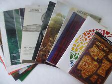 15 catalogues de ventes d'objets d'art (en couleurs, des années 90 et de Drouot)