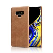 Luxury Real Genuine Leather Slim Back Cover Case  For Samsung Galaxy Note 8 / 9