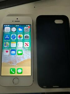 Apple iphone 5s white - 16 GB - unlocked - screen damaged but all functions work