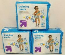 3x Target Up & Up Training Pants Boys 3T-4T 40 lbs Dinosaurs Rockets Pull Ups