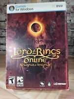 Lord of the Rings Online: Shadows of Angmar pc dvd game for windows complete!