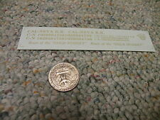 Herald King decals HO Cal-Neva RR Route Golden Nugget gold   ZZ20