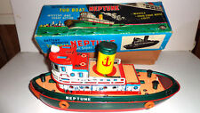 Modern toys Japan Battery operated Tug Boat Neptune mib works great