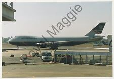 Colour print of British Airways Boeing 747 236B G-BDXF at Seattle in 1998