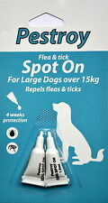 Flea and Tick- Prevention for Large dogs over 15kg Pestroy by Bob Martin