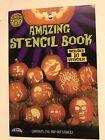 Pumpkin Pro Halloween Amazing Stencil Book Includes 10 Pop-Out Stencils!