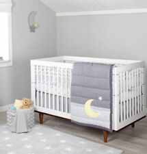 Little Love by Nojo Mix & Match Moon & Star  3 Piece Crib Bedding set - Unisex