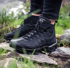 """NIKE AIR MAX 95 SNEAKERBOOT """"TRIPLE BLACK"""" COLD WEATHER RUNNING SHOES 806809-1 8"""
