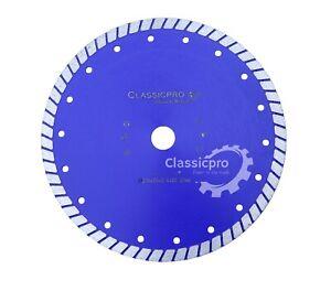 230mm 9'' Turbo Diamond Stone Tile Cutting Disc Angle Grinder Discs / Blade UK