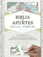 Rvr 1960 Biblia de Apuntes, Edicion Ilustrada, Blanco En Tela Para Colorear: New
