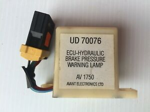 BENTLEY MULSANNE ROLLS-ROYCE SILVER SPUR brake pressure warning relay UD70076