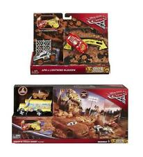 Official Disney Cars 3 Crazy 8 Smash & Crash Derby Playset & 2 Vehicles  **NEW**